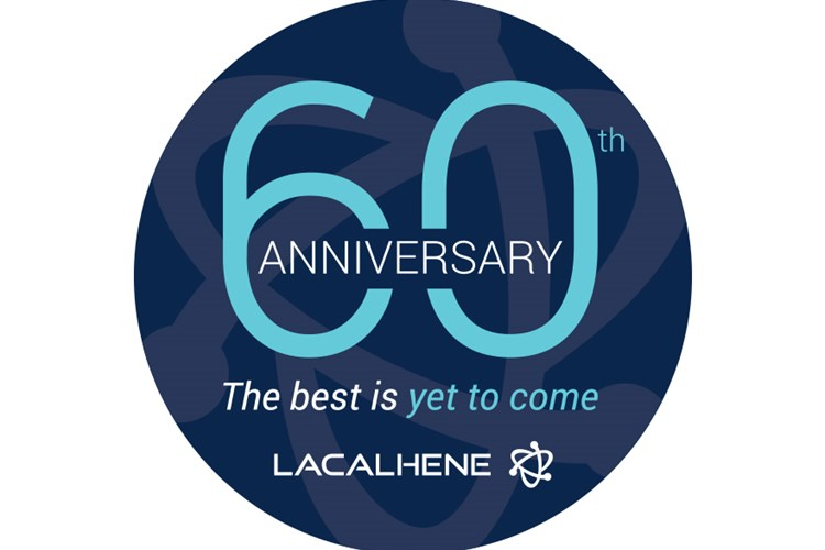 LaCalhene logo for its 60th anniversary